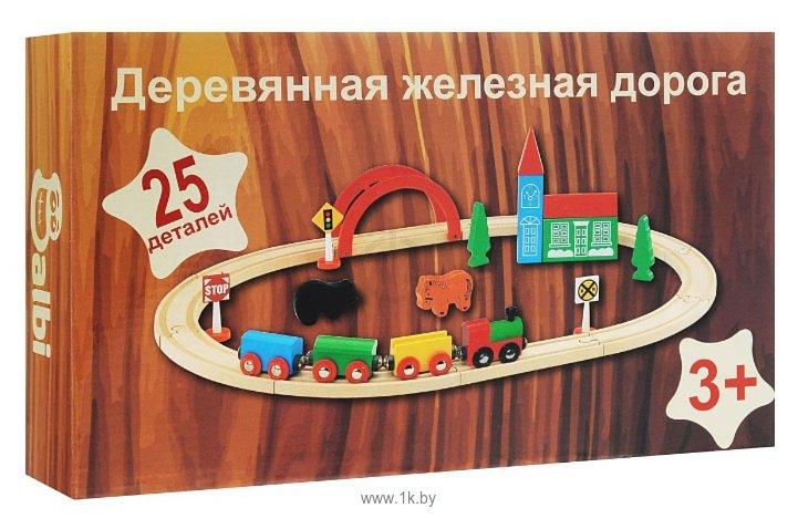 """Фотографии Balbi Стартовый набор """"Железная дорога"""" WT-048"""