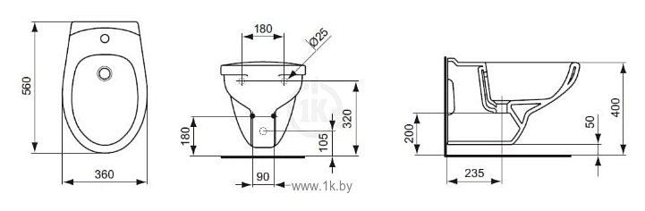 Фотографии Ideal Standard Eurovit V493201