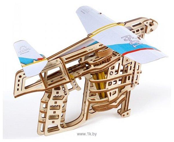 Фотографии Ugears Пускатель самолетиков