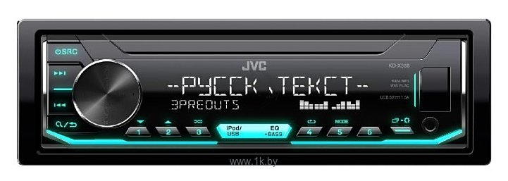 Фотографии JVC KD-X355