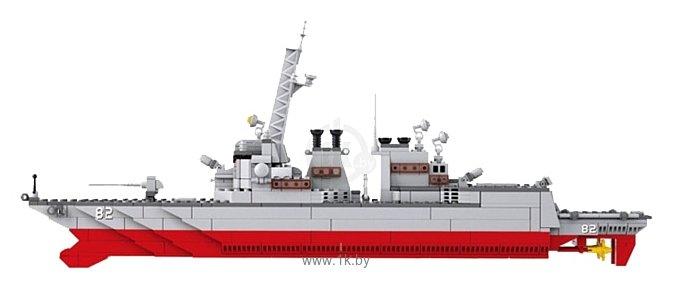 Фотографии SLUBAN Военно-морская серия M38-B0390 Эсминец Дестройер