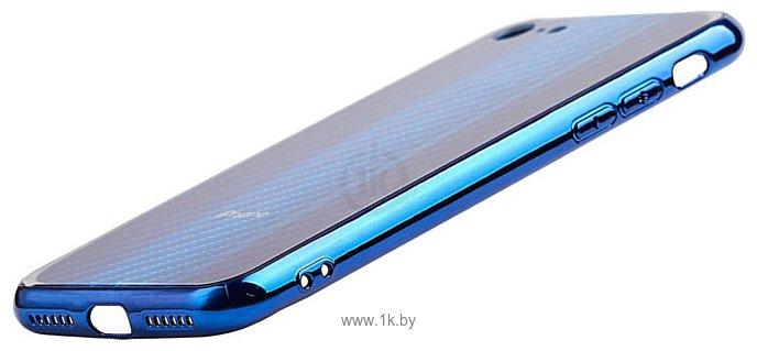 Фотографии EXPERTS AURORA GLASS CASE для iPhone 6 с LOGO (синий)