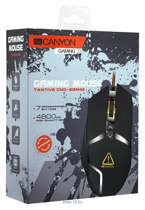 Фотографии Canyon CND-SGM4E Tantive Black USB