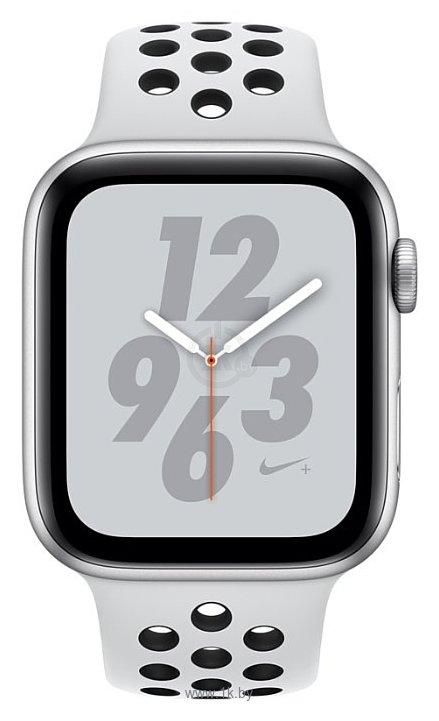 Фотографии Apple Watch Series 4 GPS + Cellular 40mm Aluminum Case with Nike Sport Band