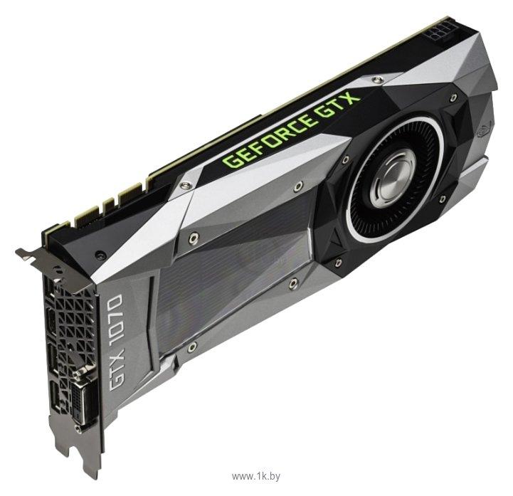 Фотографии Palit GeForce GTX 1070 8192Mb Founders Edition (NE51070015P2-PG411F)