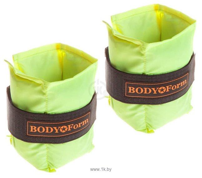 Фотографии Body Form BF-WUN01 2x0.5 кг (салатовый)