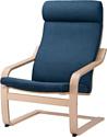 Ikea Поэнг (березовый шпон/шифтебу темно-синий) 793.027.97
