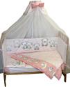 Баю-Бай Ми-ми мишки К40-ММ1 (розовый) 112х147 4 предмета