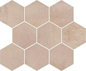 Opoczno Arlequini Mosaic Hexagon 337x280 ND032-009