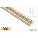 Молдинг декоративный Hiwood D25-GR4