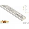 Молдинг декоративный Hiwood  D30-W4