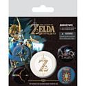 Pyramid International Набор значков The Legend Of Zelda: Breath Of The Wild (Z Emblem)