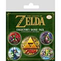 Pyramid International Набор значков The Legend Of Zelda (Classics)