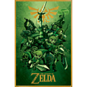 Pyramid International Постер The Legend Of Zelda (Link)