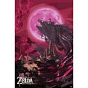 Pyramid International Постер The Legend Of Zelda: Breath Of The Wild (Ganon Blood Moon)