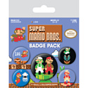 Pyramid International Набор значков Super Mario Bros (Retro)
