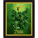 Pyramid International Постер 3D The Legend Of Zelda (Link)