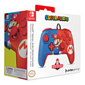 Faceoff Deluxe+ Audio Wired Controller - Super Mario