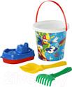 Набор игрушек для песочницы Полесье Микки и Веселые гонки №10 / 65650