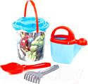 Набор игрушек для песочницы Полесье Marvel Мстители №6 / 81582