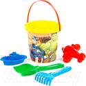 Набор игрушек для песочницы Полесье Marvel Мстители №4 / 81568