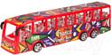 Автобус игрушечный Huada Француз / 1700636-WJ950-53A