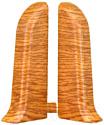 Заглушка для плинтуса Ideal Комфорт 206 Дуб коньячный