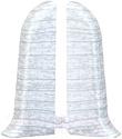 Заглушка для плинтуса Ideal Комфорт 252 Ясень белый