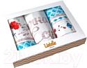 Набор полотенец Listelle Блю даймонд 46401
