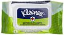 Влажные салфетки, 2 шт. Kleenex Protect антибактериальные