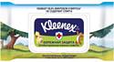 Влажные салфетки, 2 шт. Kleenex Protect Disney антибактериальные