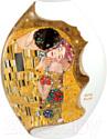 Ваза Goebel Artis Orbis Gustav Klimt Поцелуй / 66-500-42-1