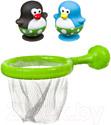 Игра для ванной Bondibon Сачок и 2 пингвина / ВВ3466