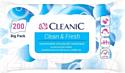 Влажные салфетки Cleanic Clean&Fresh универсальные для рук и тела с клапаном