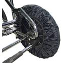 BAMBOLA Чехлы на колёса большого диаметра для прогулки 4 шт в комплекте...