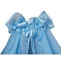 BAMBOLA Балдахин для детской кроватки 150*400 Голубой