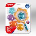 HAUNGER Набор игрушек для ванной МОРСКОЙ (блистер, 6 элементов)