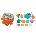 HAUNGER Набор игрушек для ванной КРАБ (12 элементов)