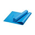 Гимнастический коврик для йоги, фитнеса Starfit FM-101 PVC blue (173x61x0,3 см)