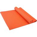 Гимнастический коврик для йоги, фитнеса Starfit FM-101 PVC orange (173x61x0,4)