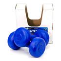 Гантели пластиковые Владспортпром 2х1 кг blue