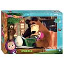 Мозаика Step Puzzle Маша и Медведь 2 160 Анимаккорд 94089