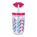 Contigo Стакан для воды Funny Straw Cherry Blossom Lips 1000-0522