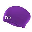 TYR Шапочка для плавания Long Hair Wrinkle-Free Silicone Cap LCSL/510 Violet