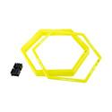 Jogel Набор шестиугольных напольных обручей J?gel Agility Hoops (JA-216), 6 шт
