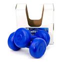 Гантели пластиковые Владспортпром 2х2 кг blue