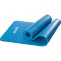 Гимнастический коврик для йоги, фитнеса Starfit FM-301 NBR blue (183x58x1,2)
