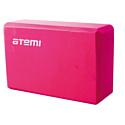 Блок для йоги Atemi AYB01P pink