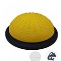 Тренажер баланса с эспандером Zez Sport BuBs-45M yellow