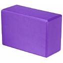Блок для йоги Atemi AYB02PL purple